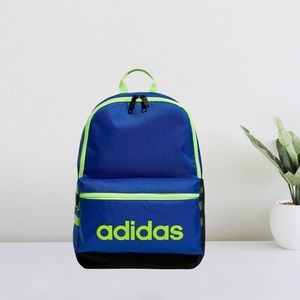Adidas Youth Classic 3 Strip Backpack - Team Royal